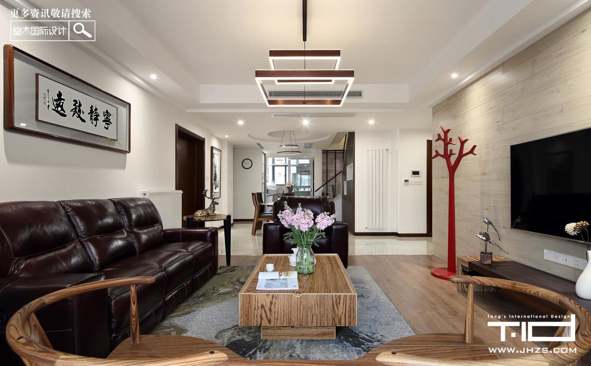 景枫法兰谷-新中式-跃层复式 装修图片