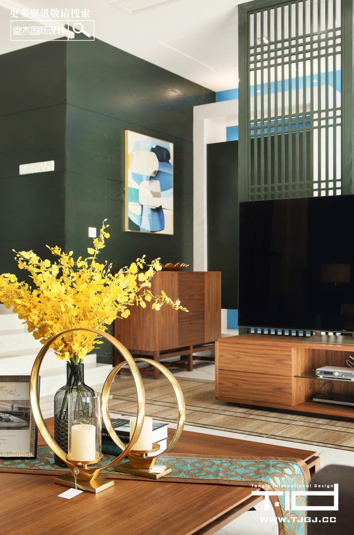 颐和南园-现代简约-联排别墅 装修图片