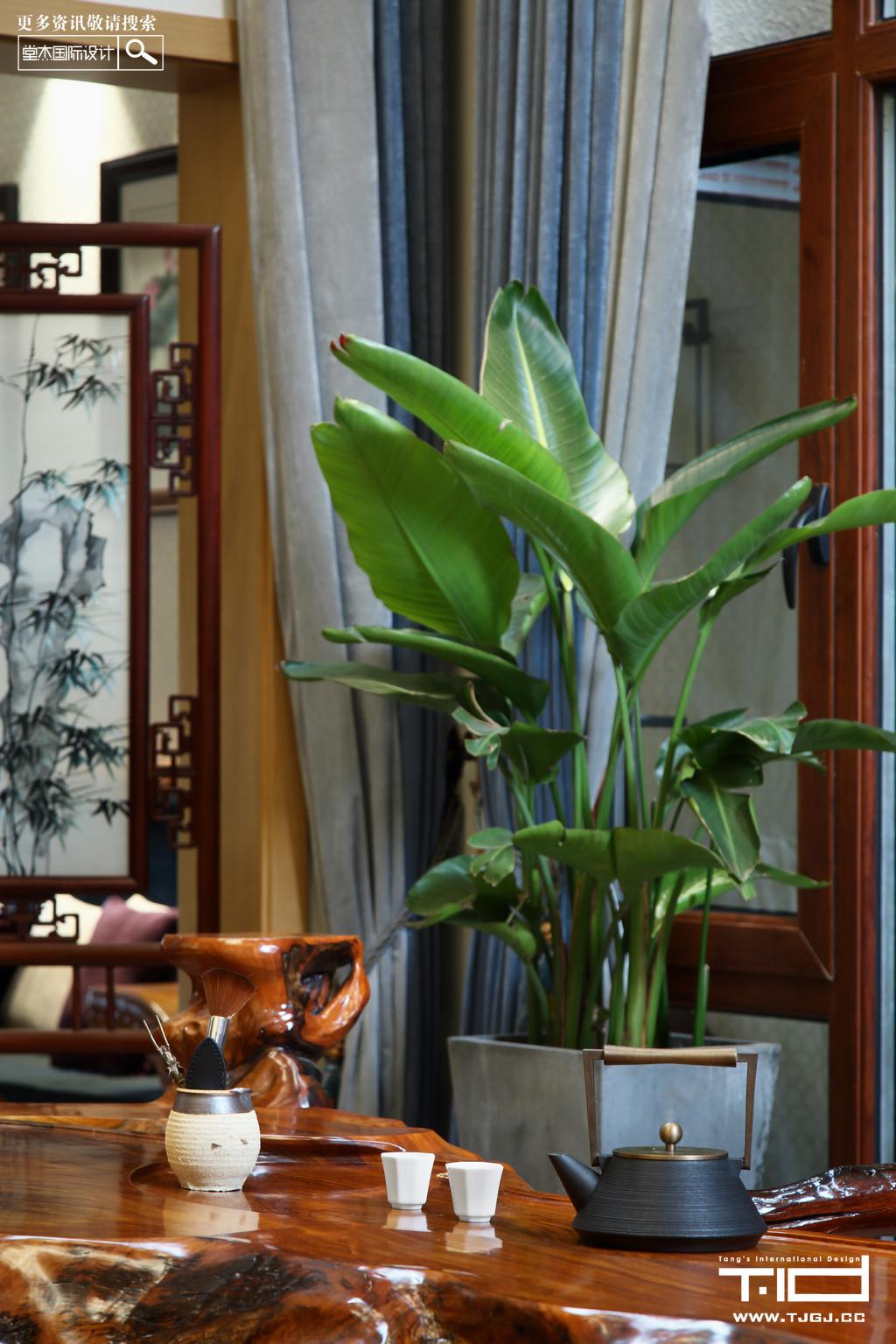 新谷仙林翠谷-新中式-独栋别墅 装修图片
