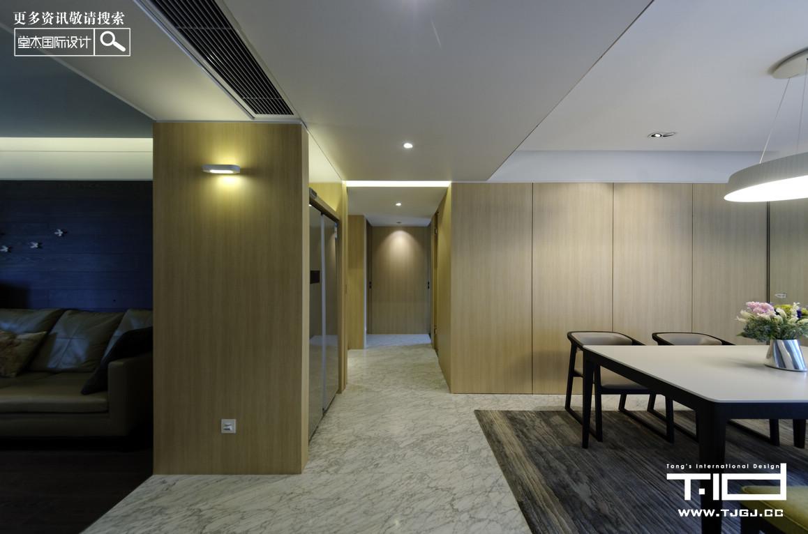 五矿御江金城-现代简约-大平层 装修图片