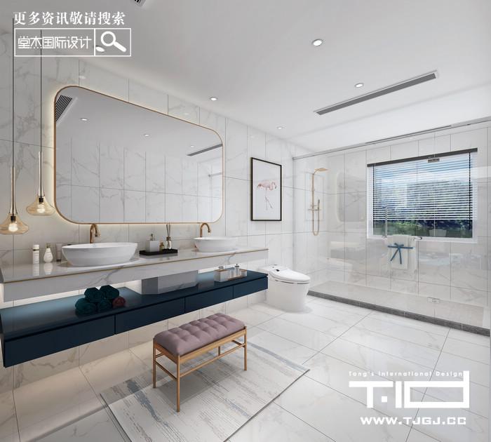 金隅紫京府-现代简约-大平层 装修图片