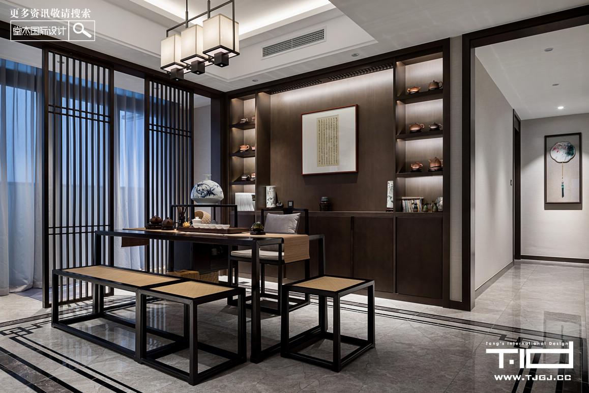 香樟园-新中式-独栋别墅 装修图片