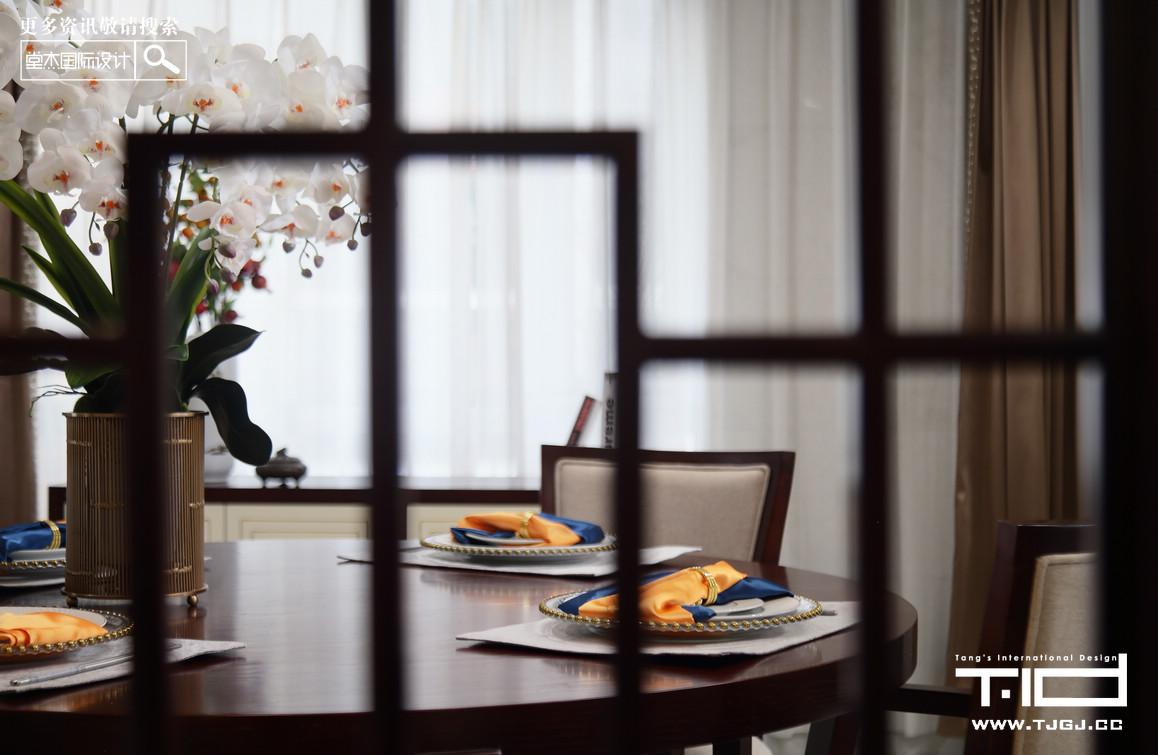 瑞景文华-新中式-独栋别墅 装修图片