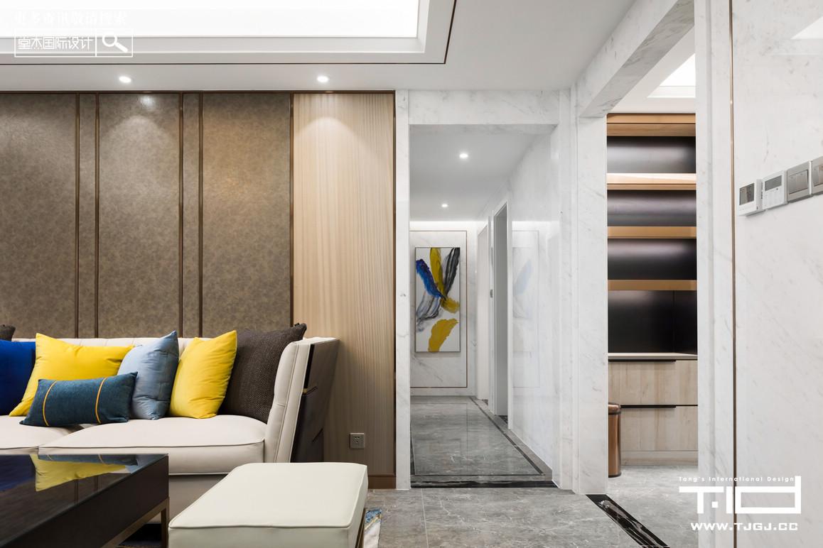 香江豪庭-现代轻奢-大平层 装修图片
