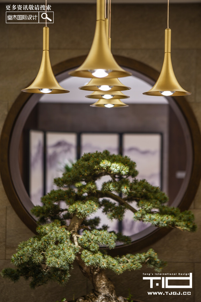 南山湖-新中式-独栋别墅 装修图片