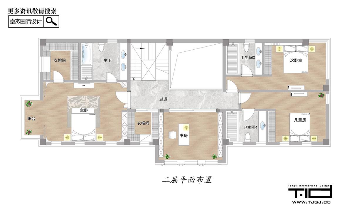 复地朗香-现代简约-独栋别墅 装修图片