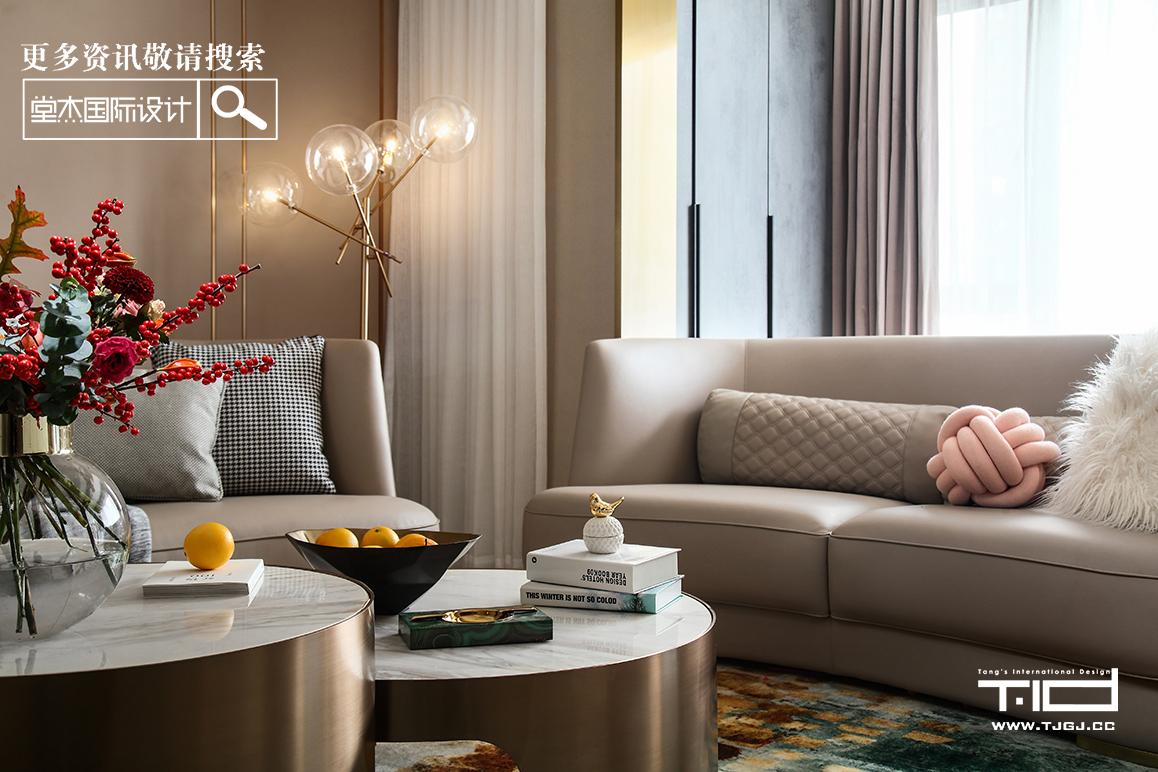 金隅紫京府-现代轻奢-大平层 装修图片