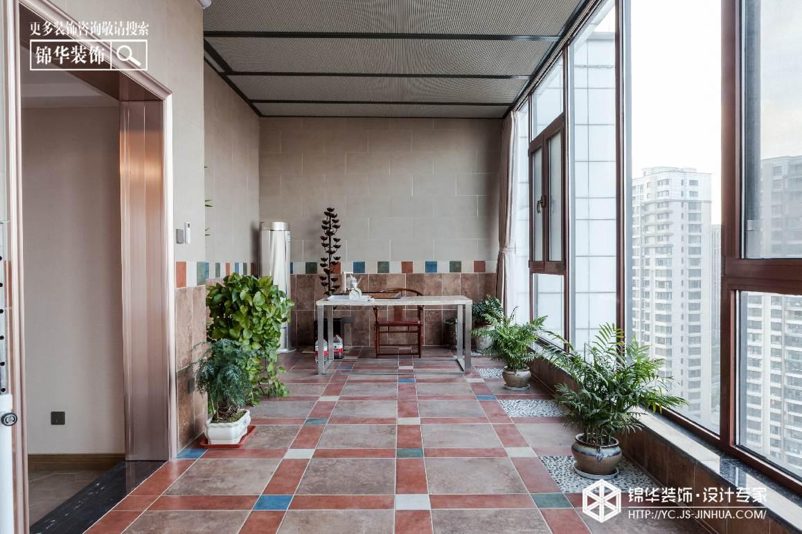香苑西园-新中式-跃层复式 装修图片