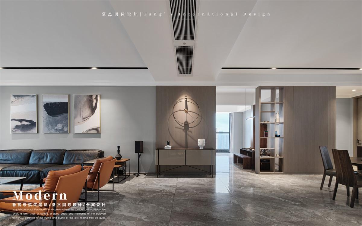 雅居乐滨江国际-现代简约-大平层 装修图片