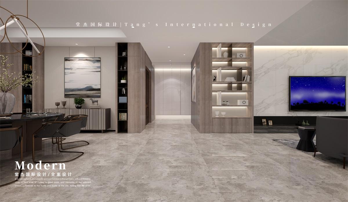 雅居乐滨江国际-420㎡-现代简约-跃层复式 装修图片