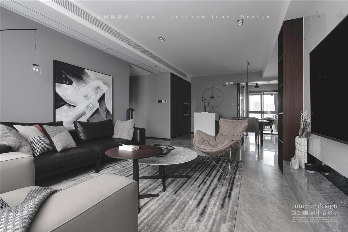 仁恒江湾城-现代简约-大平层 装修图片